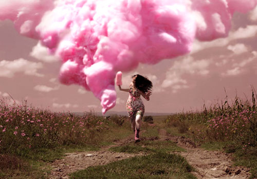 cotton candy girls cotton candy made live